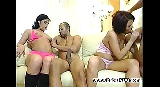 Two couples meet for fuck evening