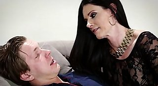 Russian man trapped in a crazy MILF's house - India Summer