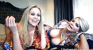 Vicky Vette & Julia Ann's First Ever Video?!