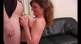 Mature Titfuck For BBW Amateur
